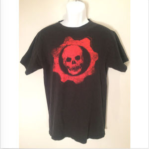 Other - Gears of War Official Boys M Black Graphic T-Shirt
